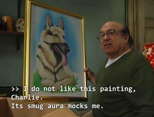 I Do Not Like This Painting Charlie Its Smug Aura Mocks Me Know