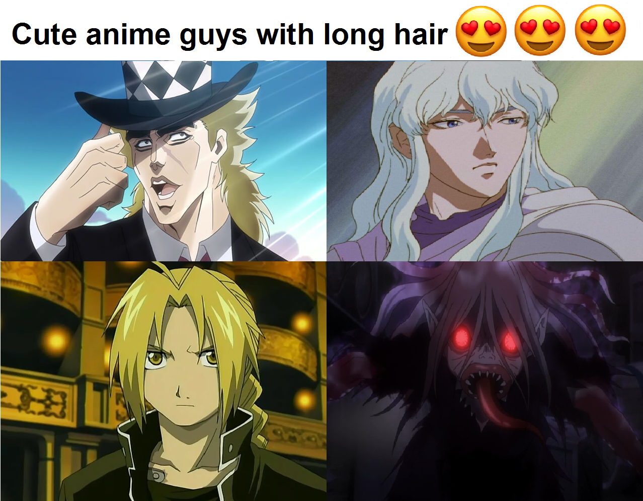 Aren T They Just Dreamy Anime Girls Comparison Parodies Know Your Meme