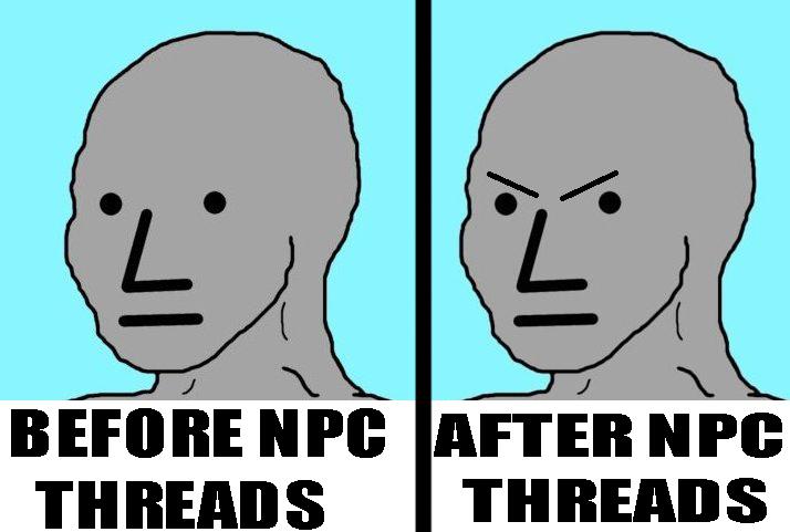 TODOS VOSOTROS despues de LEER mi HILO del NPC B2e