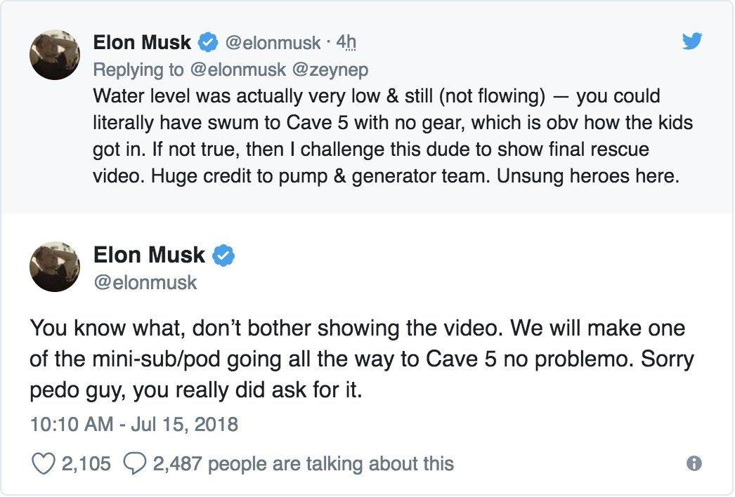 Tweet Elona Muska