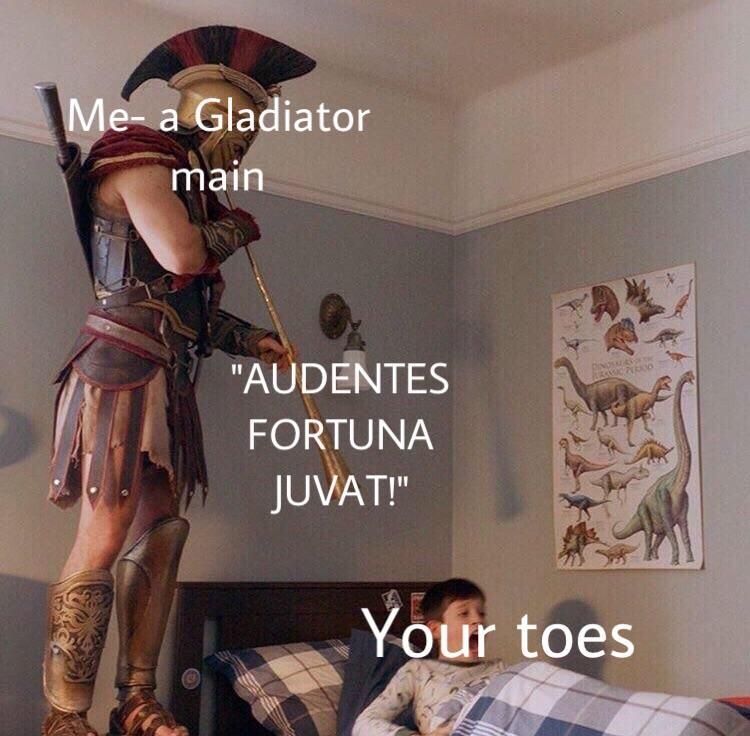 Me a gladiator man | Spartan Soldier Alarm Clock | Know Your Meme