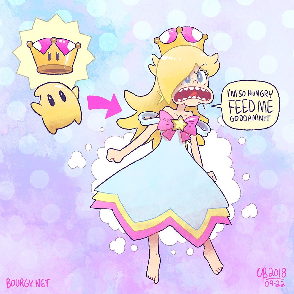 That Whole Other Mario Characters Try That Weird Peachette Super
