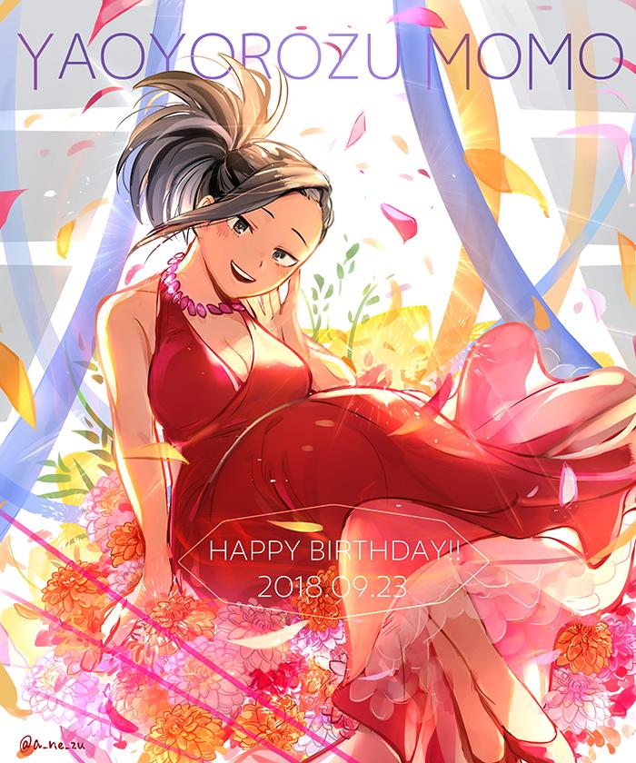 Happy Birthday Momo From A Ne Zu 23 9 18 My Hero