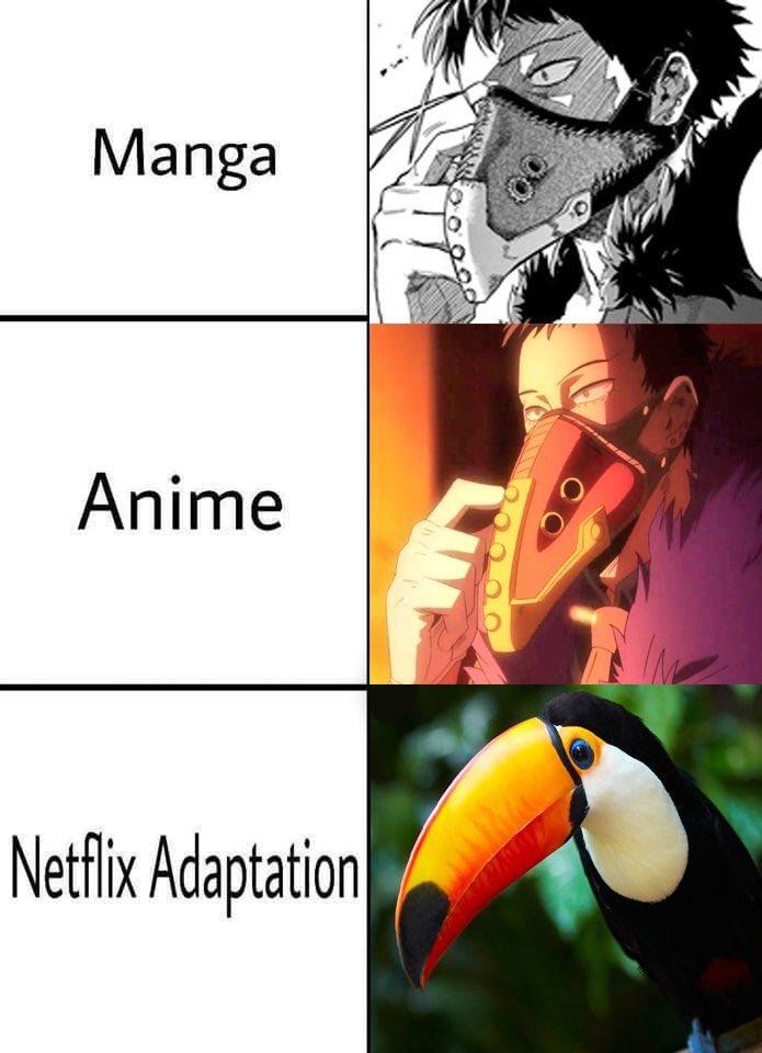Manga Anime Netflix Adoption Netflix Adaptation Know Your Meme
