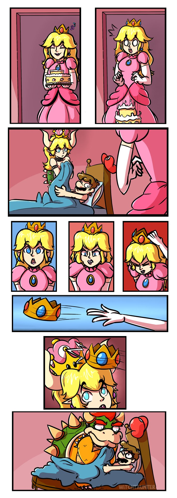 Peach and bowser sexy comic pic 682
