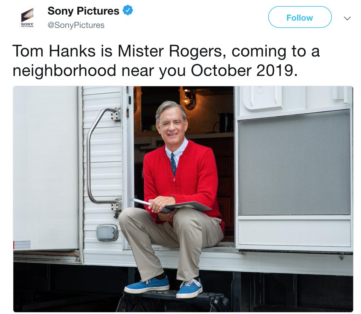 Tom Hanks Tom Hanks As Mr Rogers Know Your Meme