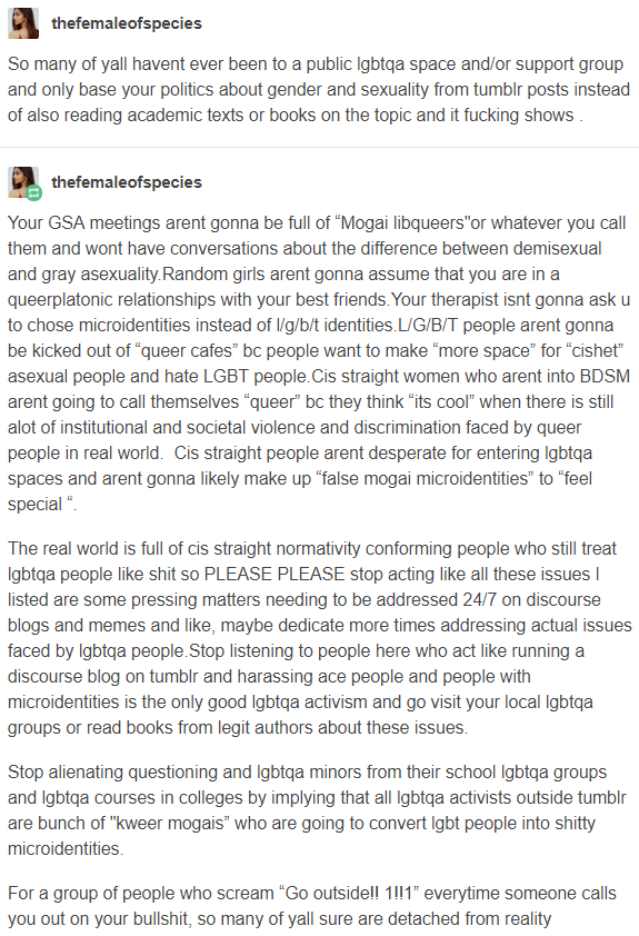 Different types of sexuality tumblr