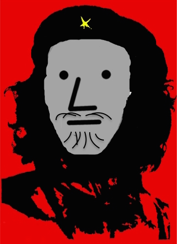Image result for che guevara pop art