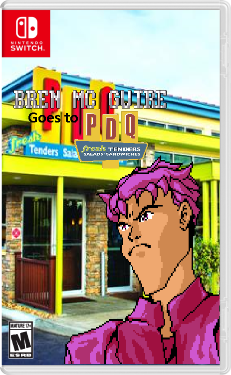 Bren McGuire goes to PDQ | Kirby Does His Taxes | Know Your Meme