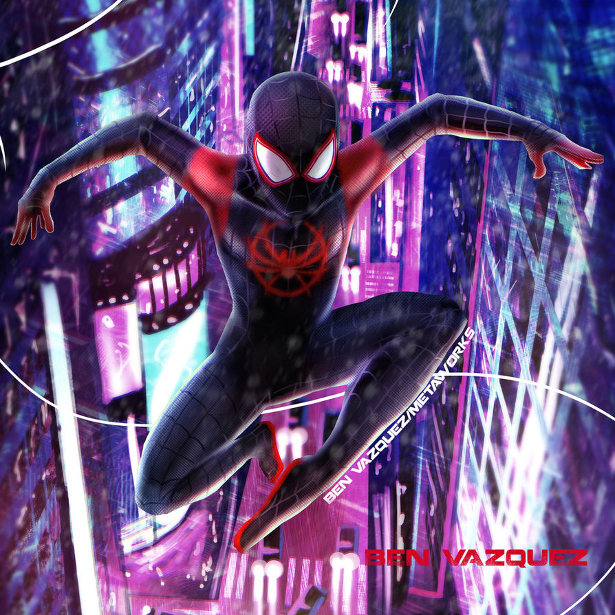 Air Miles Spider Man Into The Spider Verse Know Your Meme