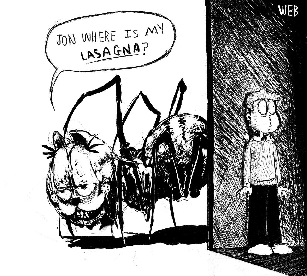 Jon Where Is My Lasagna Garfield Know Your Meme