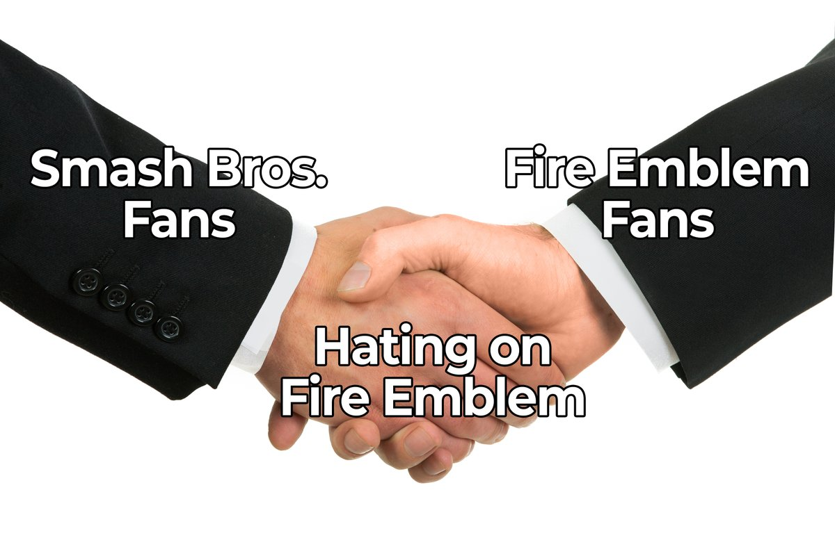 Hating on Fire Emblem | Business Handshake | Know Your Meme