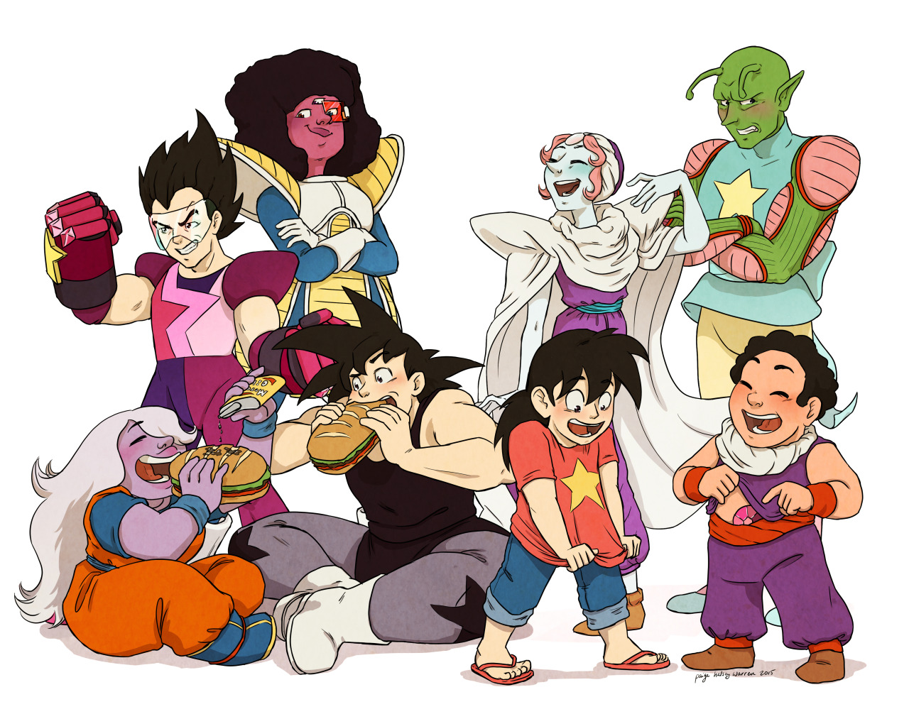 SU Moms and DBZ Dads   Crossover   Know Your Meme