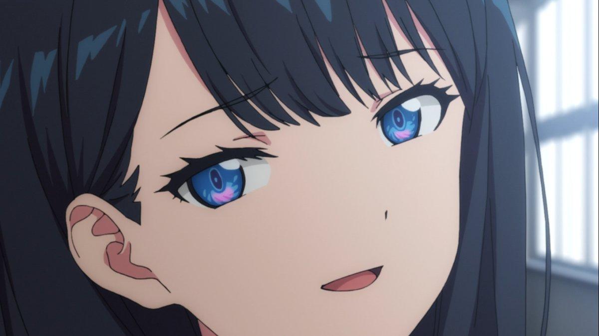 smug rikka smug anime face know your meme