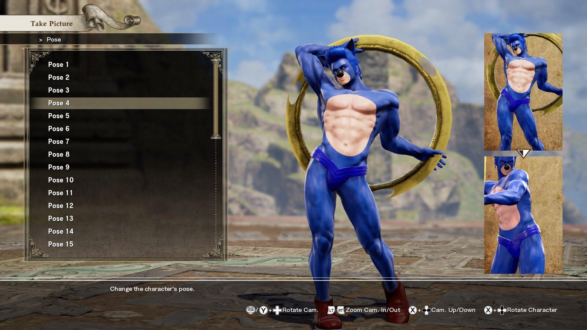 Sonic Has Found New Life In Sc6  Soulcalibur Vi Custom -7356
