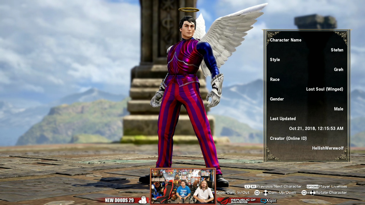 Stefán appeared in SoulCalibur VI | SoulCalibur VI Custom Characters