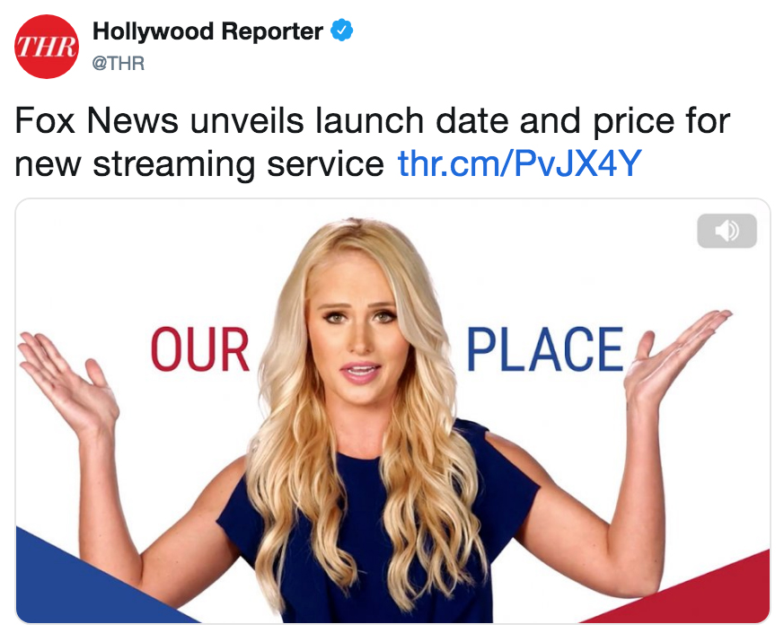 Fox News unveils launch date and price for new streaming