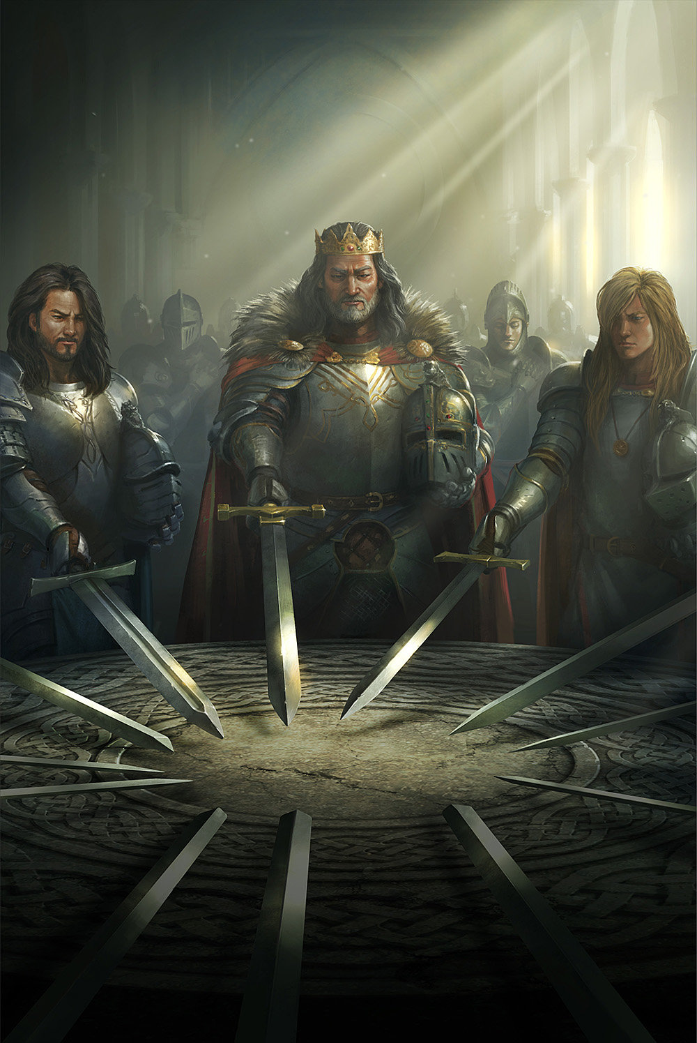 Cover Art For Kingdoms Of Camelot By Kabam Swords United Know
