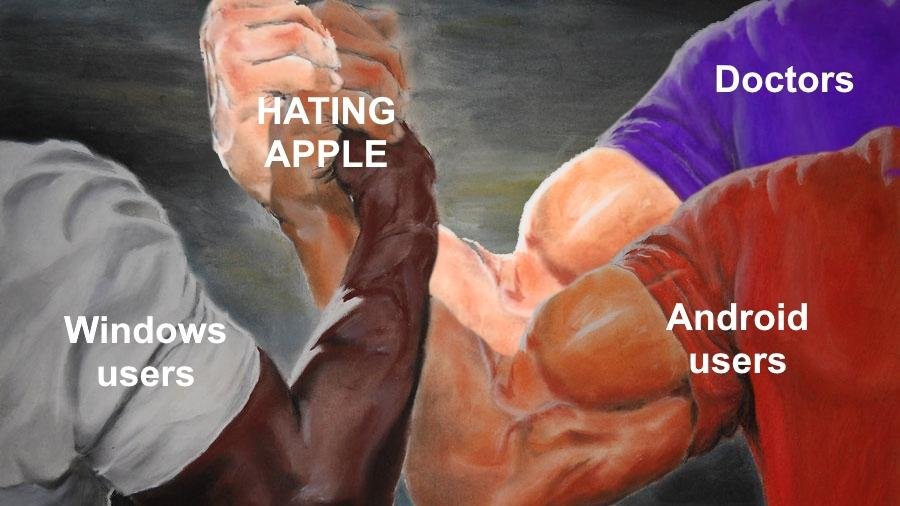 Hating Apple | Epic Handshake | Know Your Meme