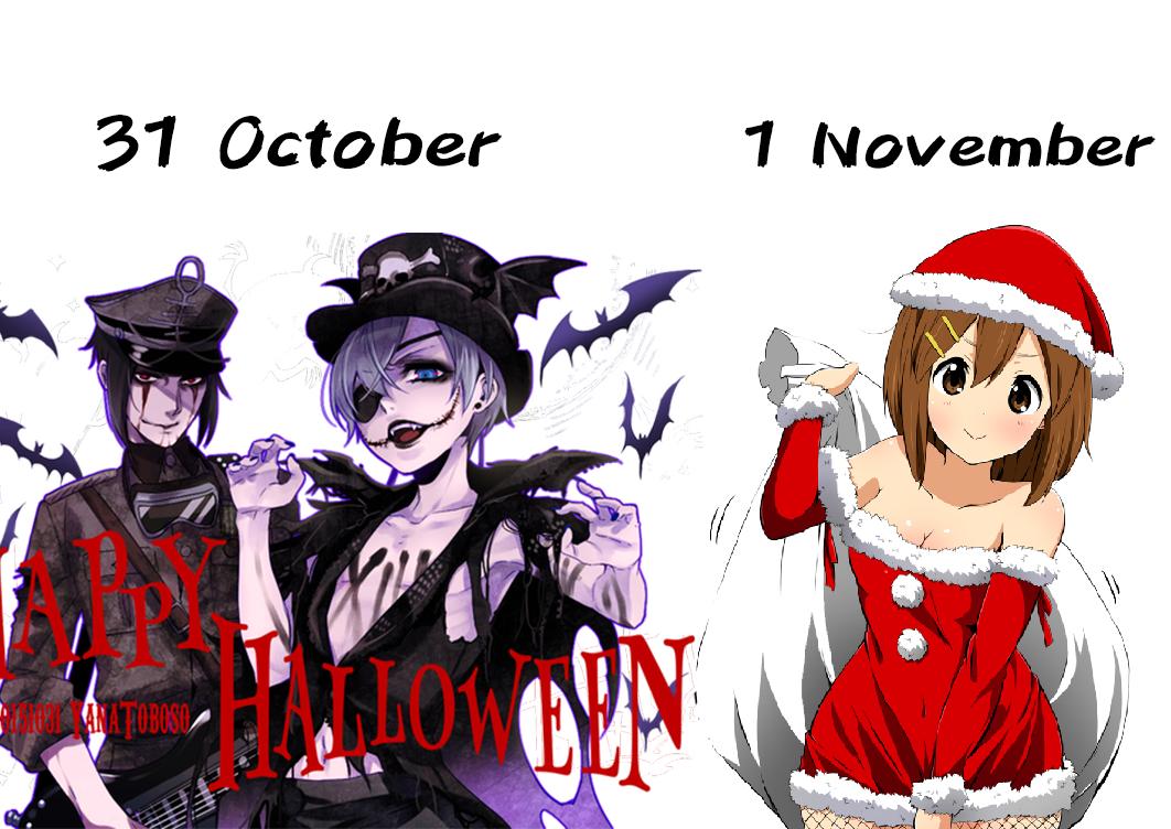 Halloween 1 November.21 October Vs 1 November Halloween Know Your Meme