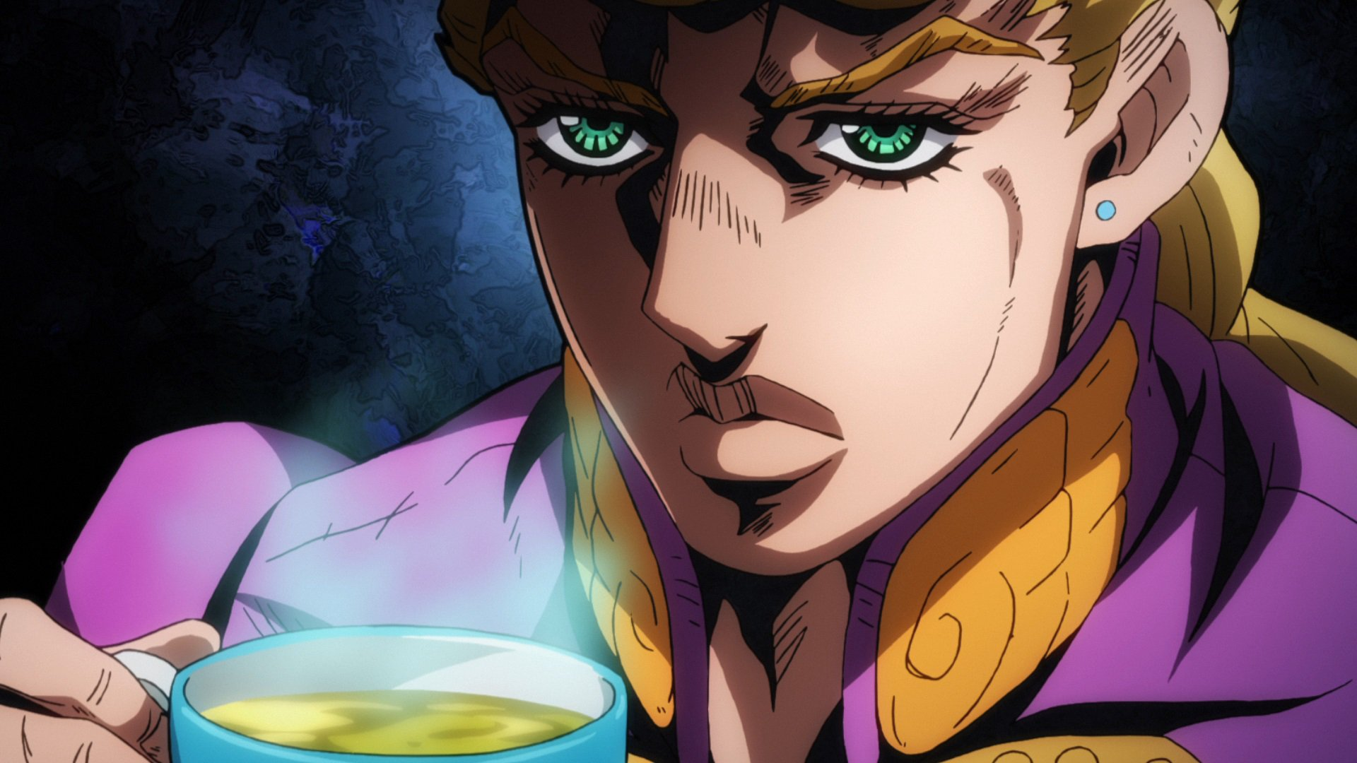 Giorno Dont Drink That Its Jarate Jojos Bizarre Adventure