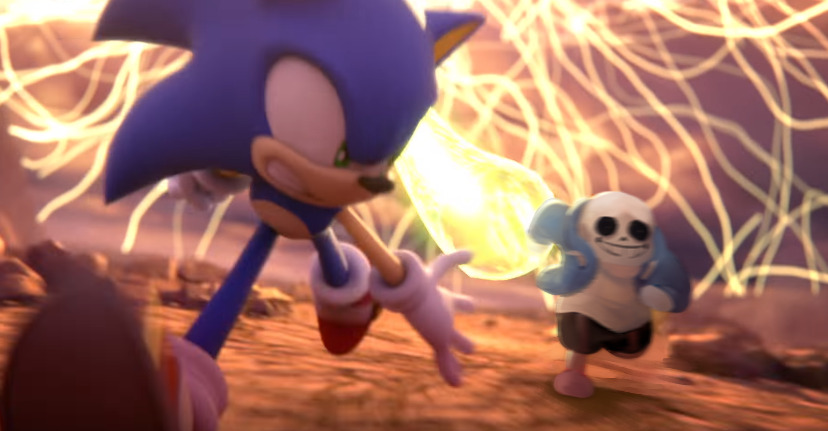 Come With Me Sans From Undertale Super Smash Brothers