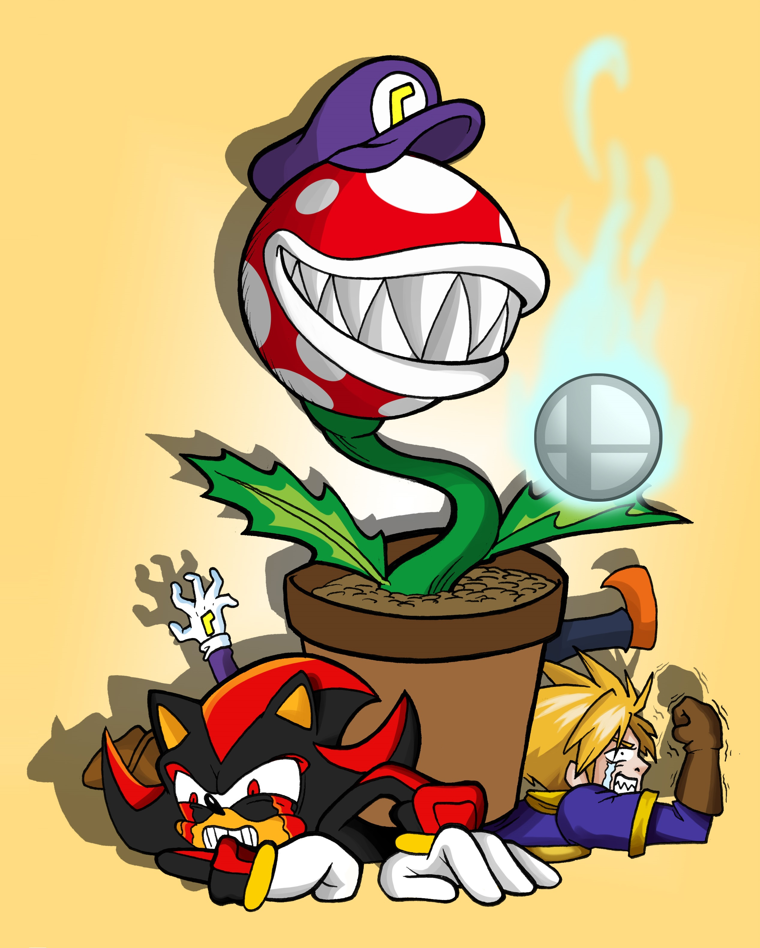 Piranha Plant Is Playable The Three Of You Aren T Super Smash