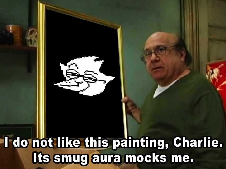 Berdly Its Smug Aura Mocks Me Know Your Meme
