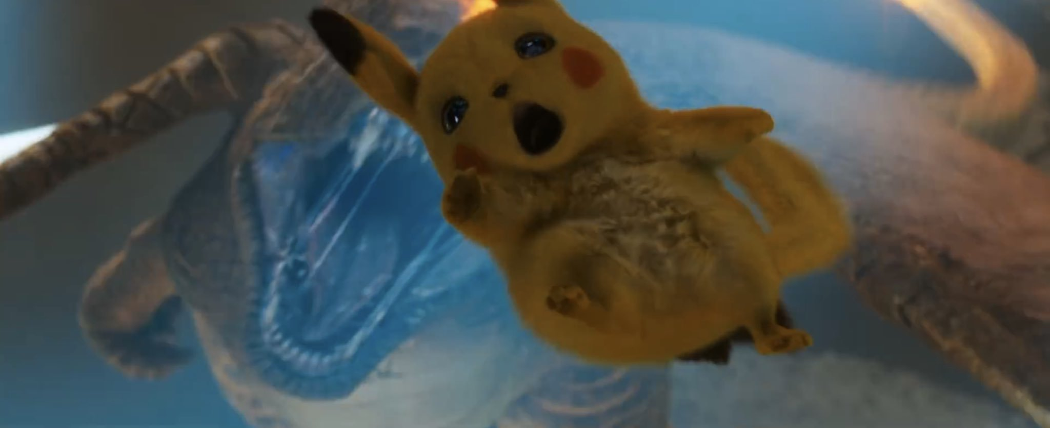 Pikachu And Charizard Detective Pikachu Know Your Meme