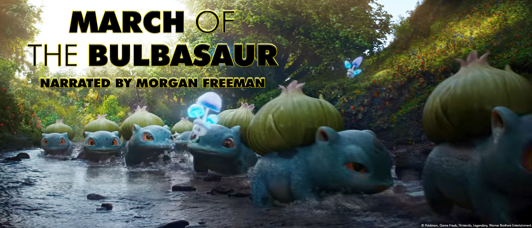 March Of The Bulbasaur Detective Pikachu Know Your Meme