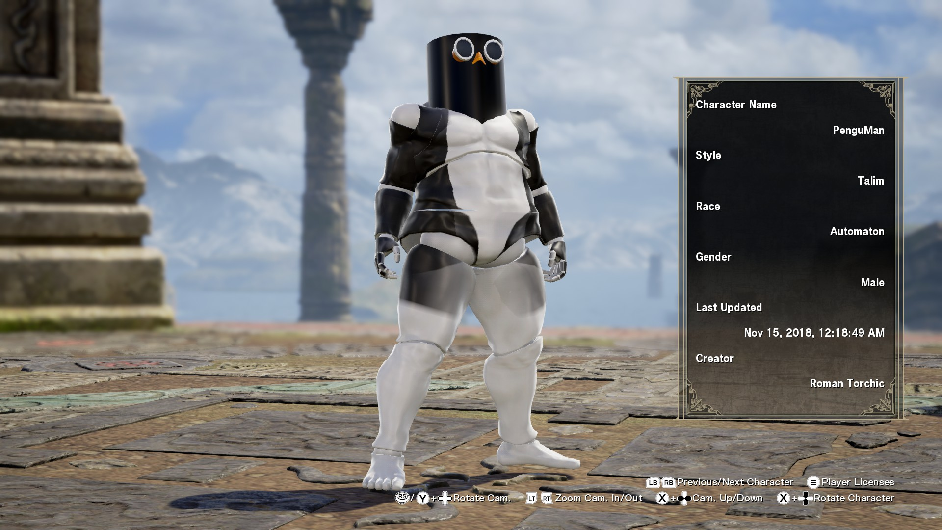 A freaking penguin   SoulCalibur VI Custom Characters   Know