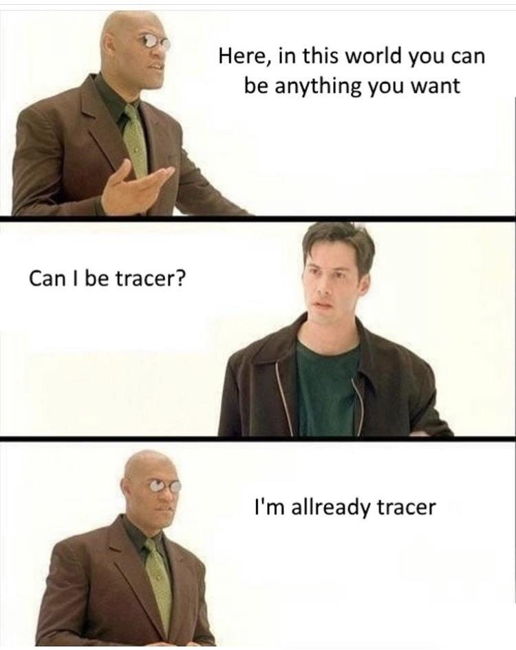 im already tracer