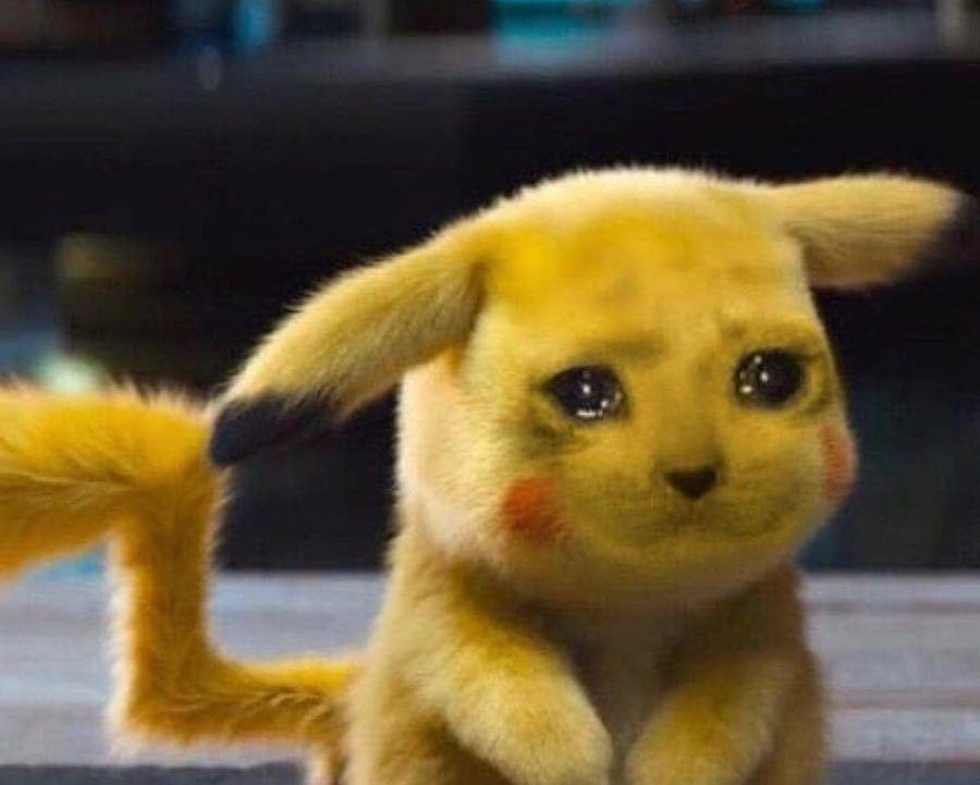 Sad Chu 2 0 Detective Pikachu Know Your Meme