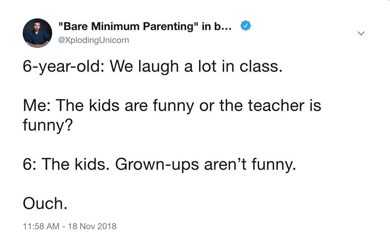 What Kids Need From Grown Ups But Arent >> Grown Ups Aren T Funny James Breakwell Know Your Meme