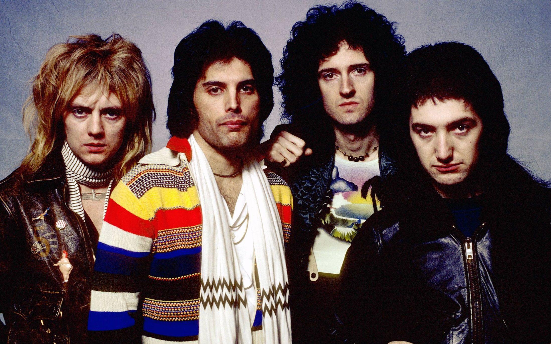 Roger Meddows Taylor Freddie Mercury John Deacon Brian May social group