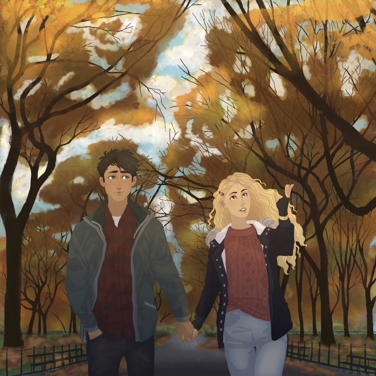 percabeth | Percy Jackson and the Olympians | Know Your Meme