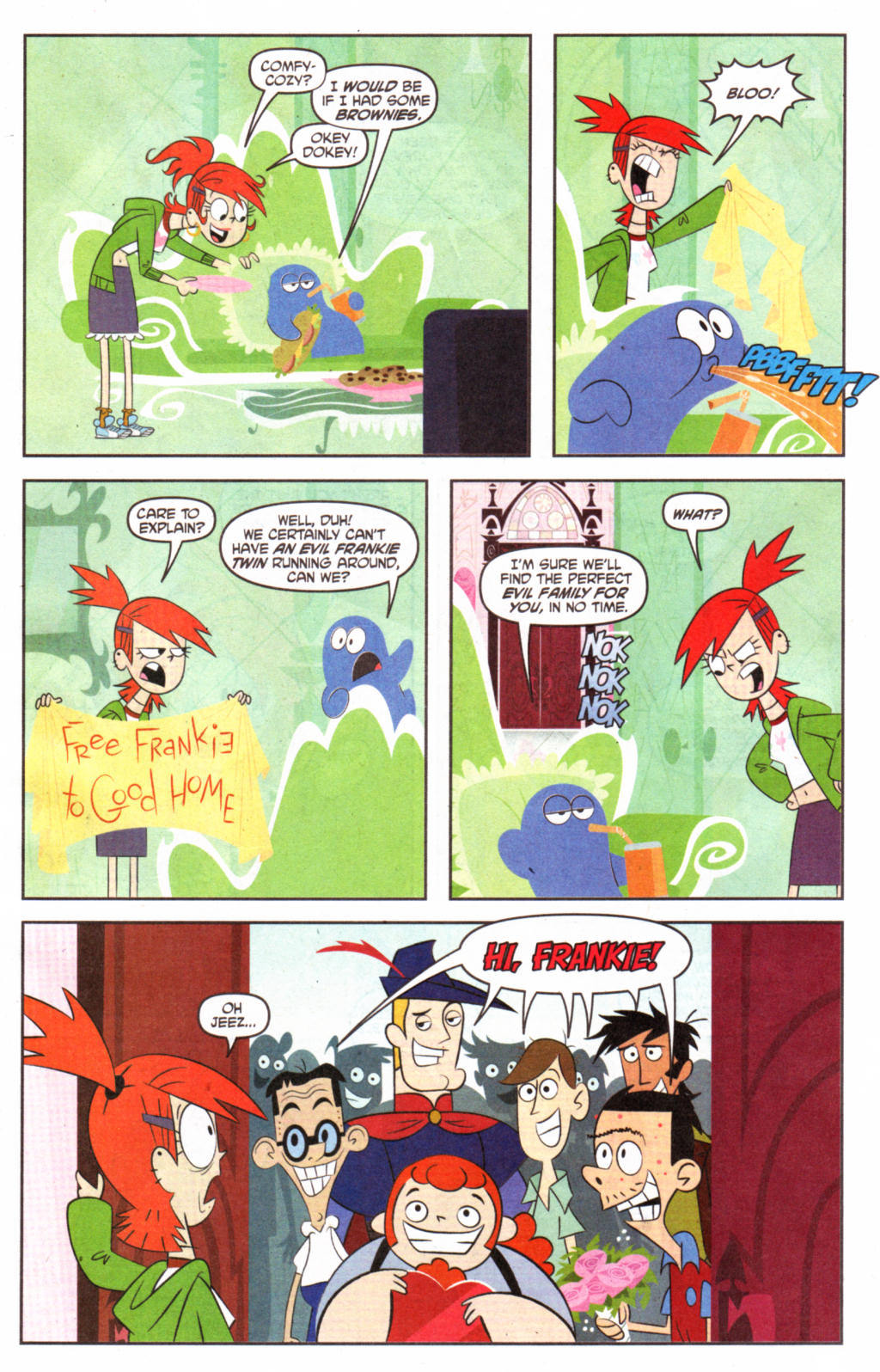 Fosters Home For Imaginary free frankie | foster's home for imaginary friends | know
