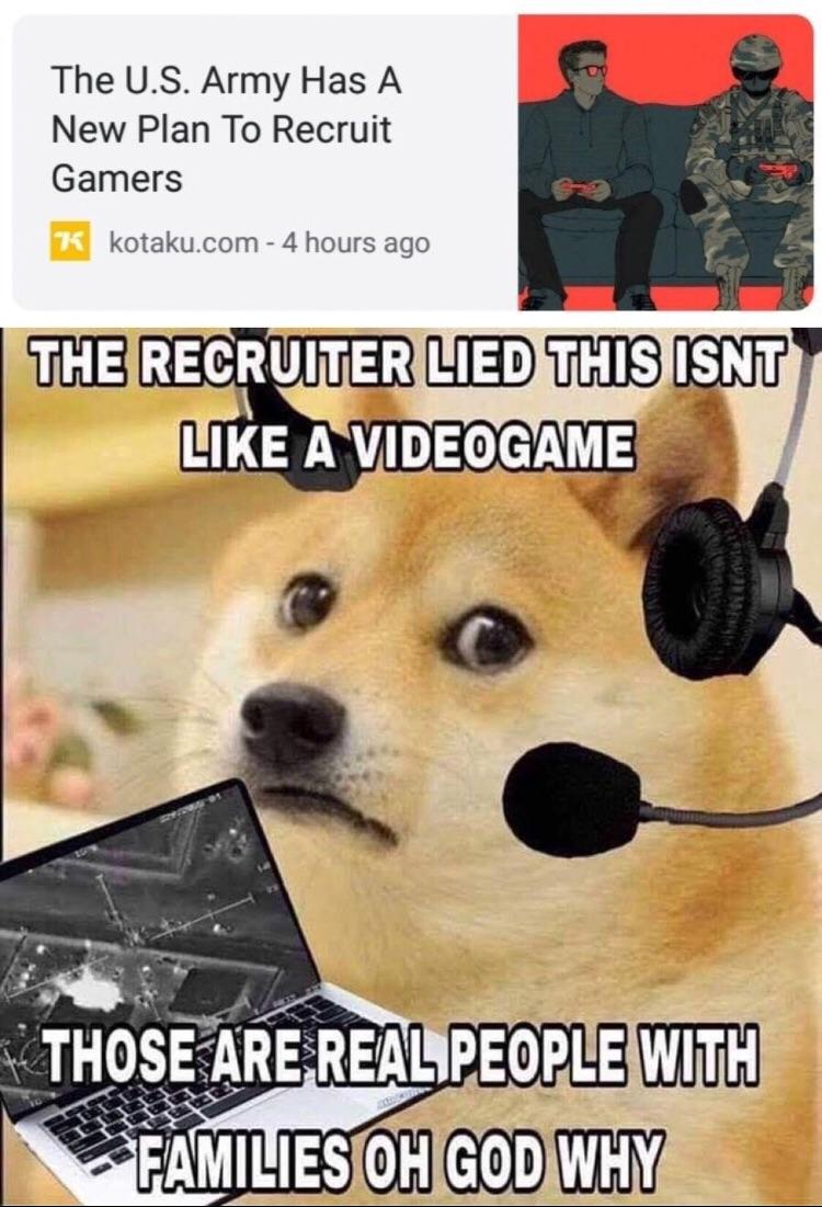 Doge Joins The Us Army Ironic Doge Memes Know Your Meme