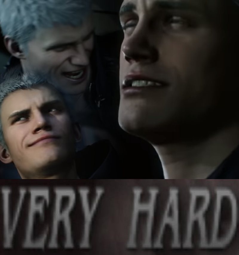 devil may cry 5 meme