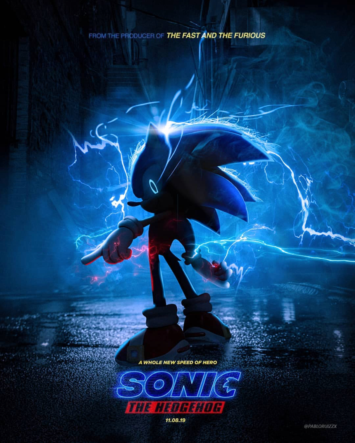 This Is What Could Have Been I Would Prefer This Than What We Are Getting Sonic The Hedgehog Movie Poster Parodies Know Your Meme