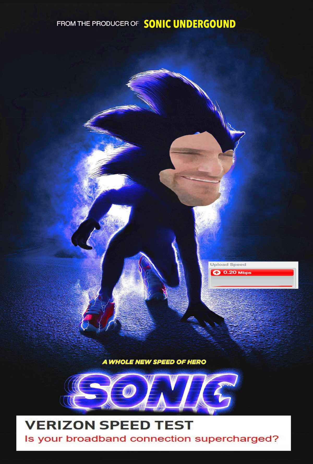 Yes Sonic The Hedgehog Movie Poster Parodies Know Your Meme