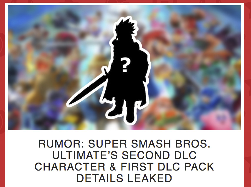 A new rumor | Super Smash Brothers Ultimate | Know Your Meme