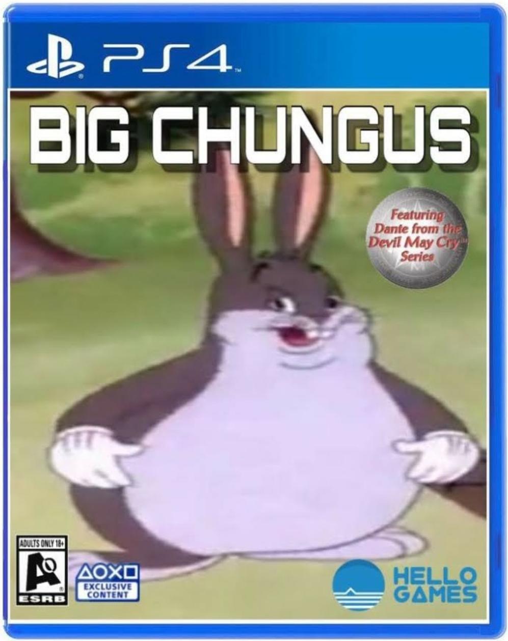 Big Chungus Big Chungus Know Your Meme