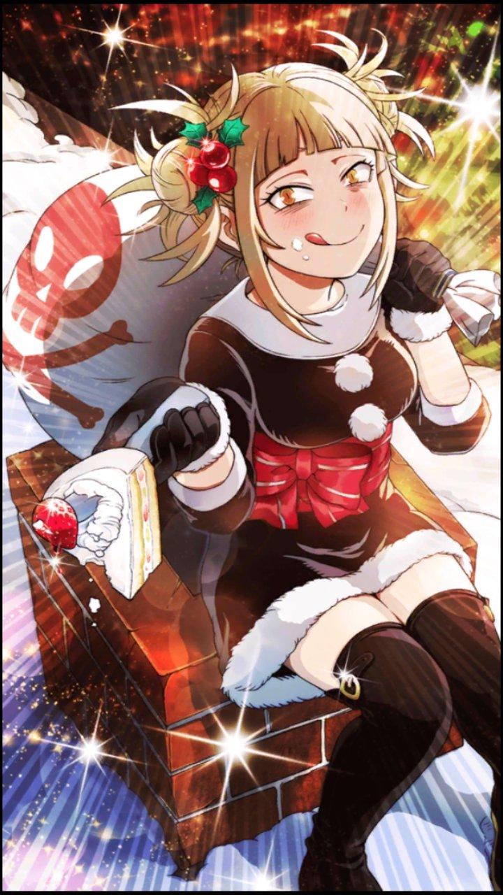 Smash Rising Christmas Toga My Hero Academia Know Your Meme
