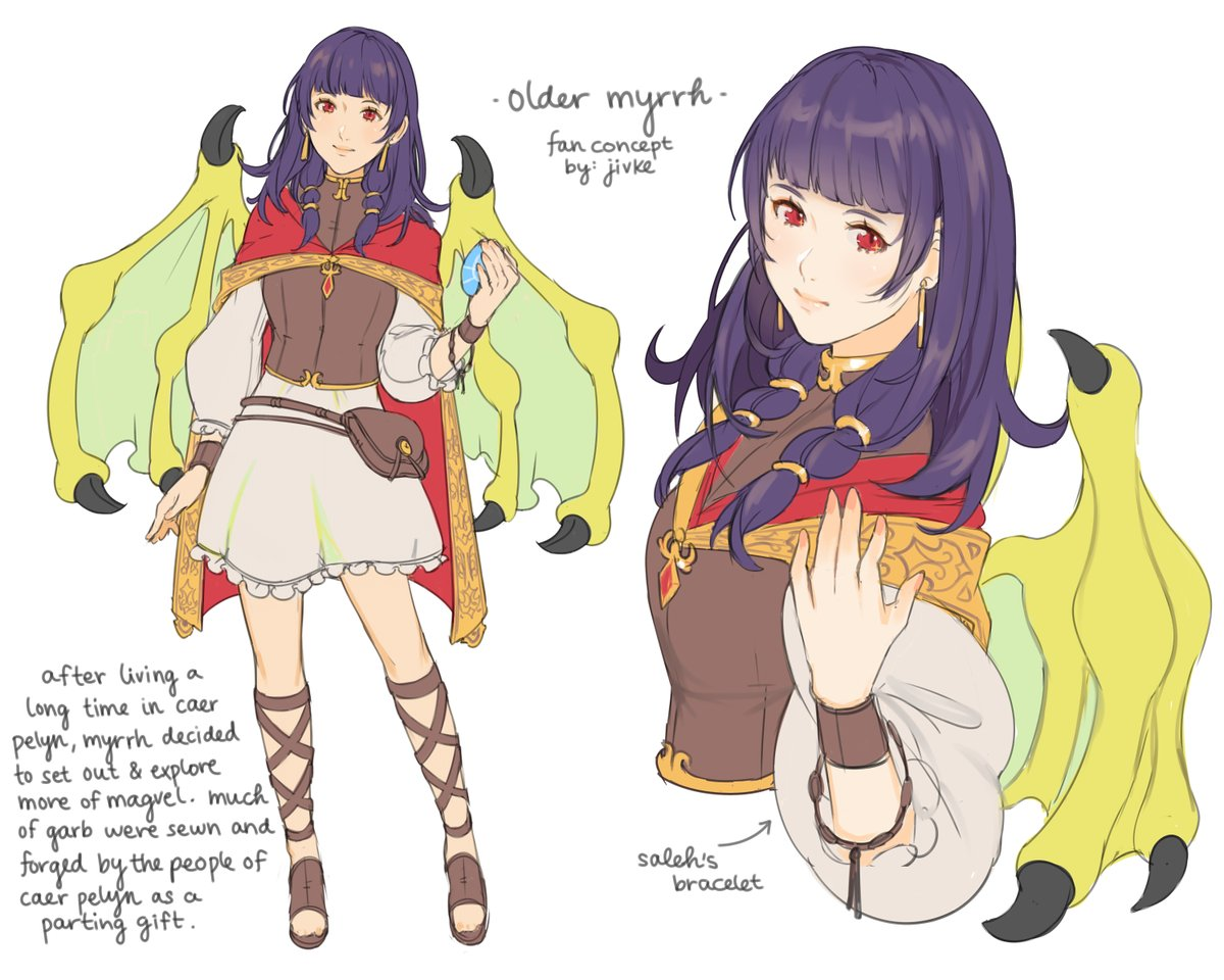 Adult Myrrh Fire Emblem Know Your Meme