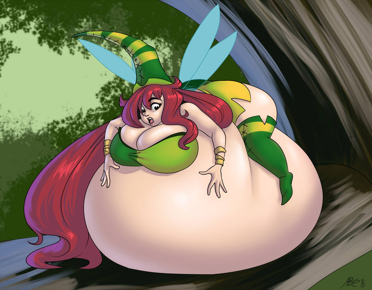 Betilla Belly Bubble By Lordaltros Body Inflation Know Your Meme
