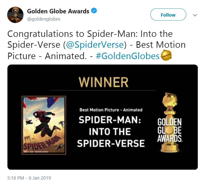 Well deserved | Spider-Man: Into the Spider-Verse | Know Your Meme