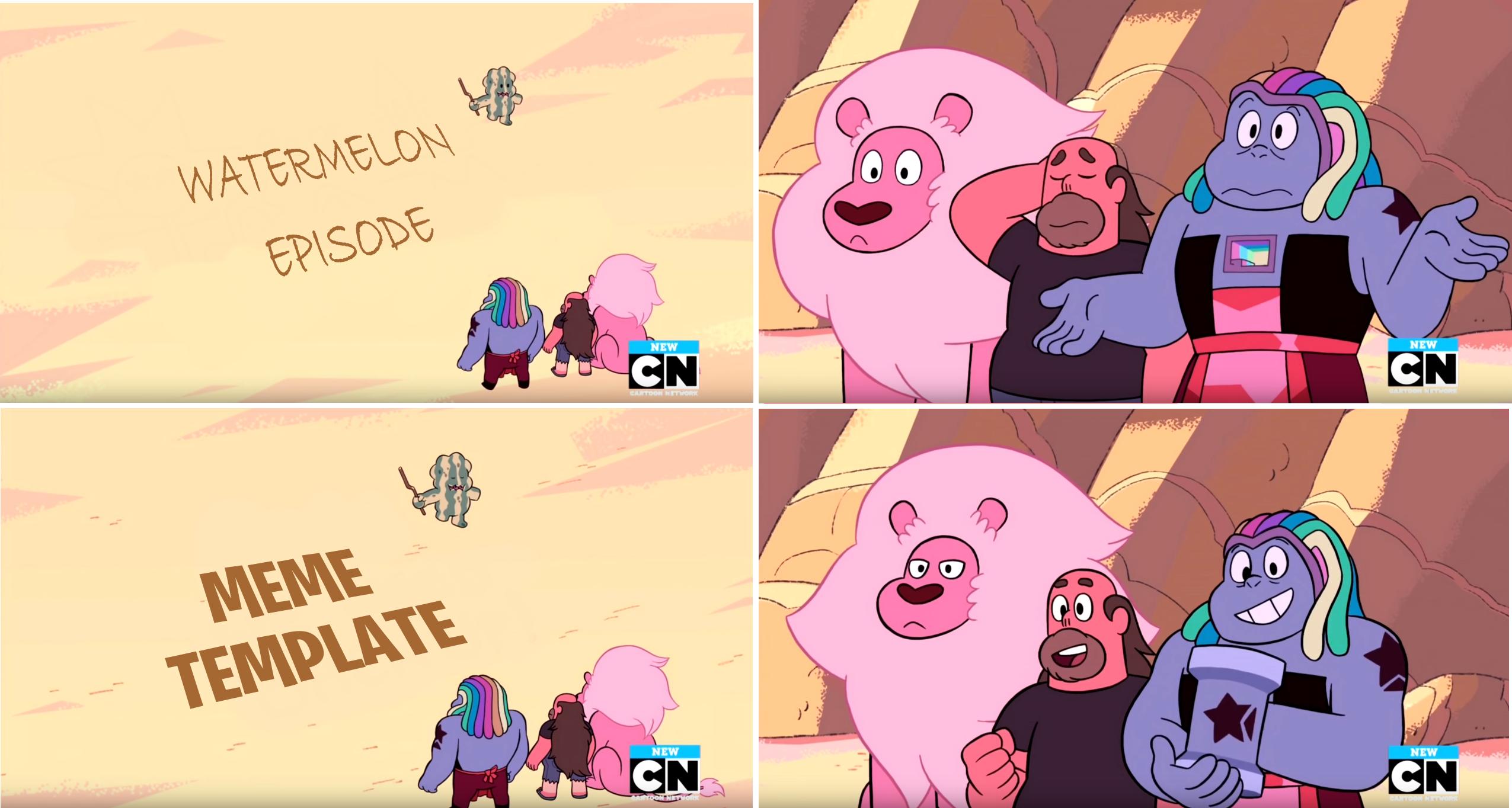 Meme Template | Steven Universe | Know Your Meme