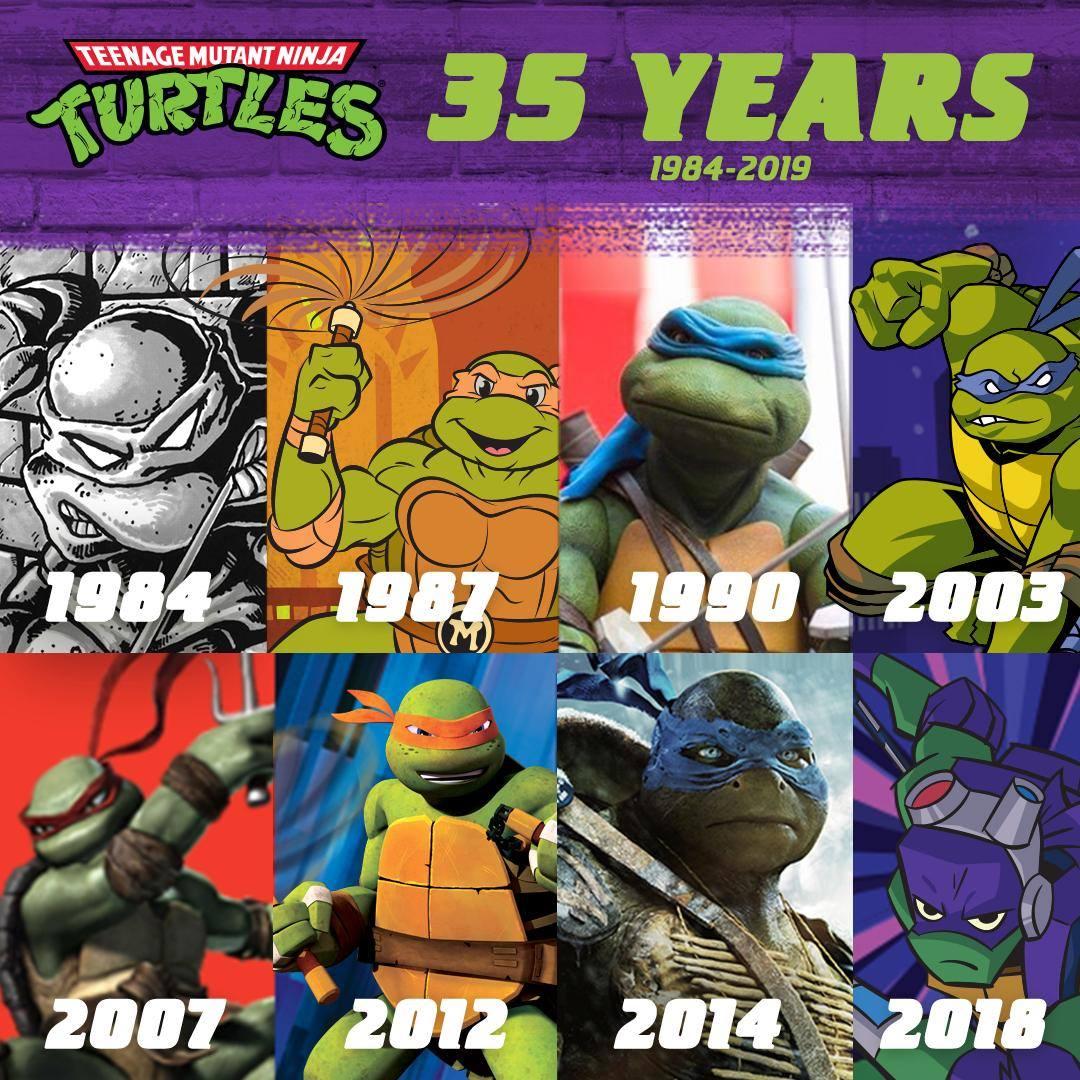 35 Years Of Tmnt Teenage Mutant Ninja Turtles Know Your Meme