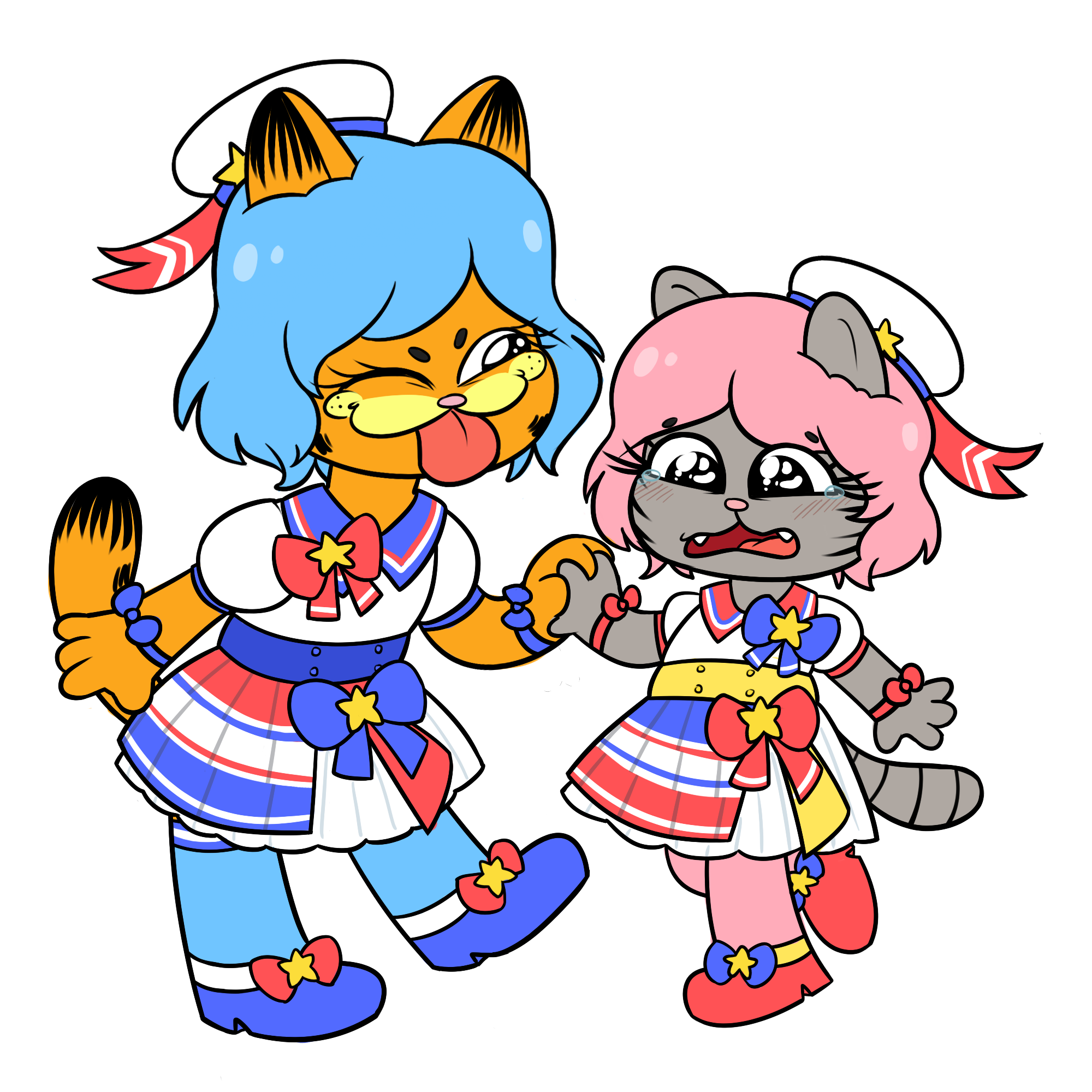 What S Wrong Nermal Chan Didn T You Want To Be Kawaii Garfield Know Your Meme